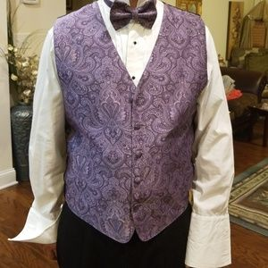 Other - Vest and bow tie M men